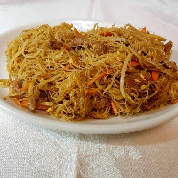 Fideos fritos con ternera gran pekin ourense