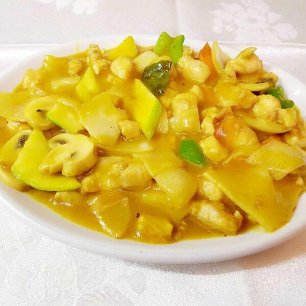 Pollo al curry gran pekin ourense