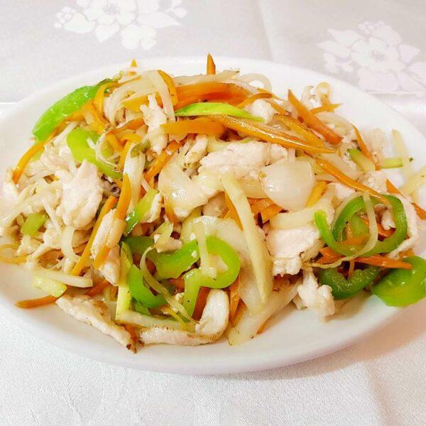 Pollo con verduras gran pekin ourense (1)