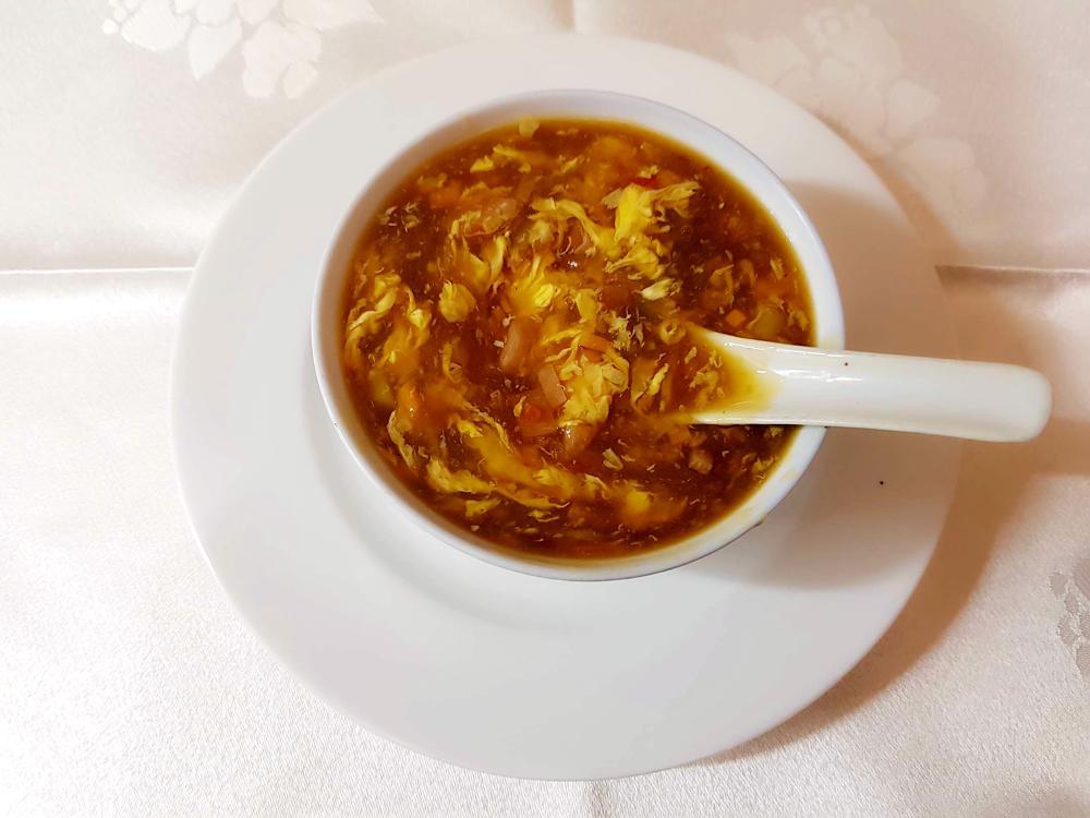 Sopa agripicante gran pekin ourense