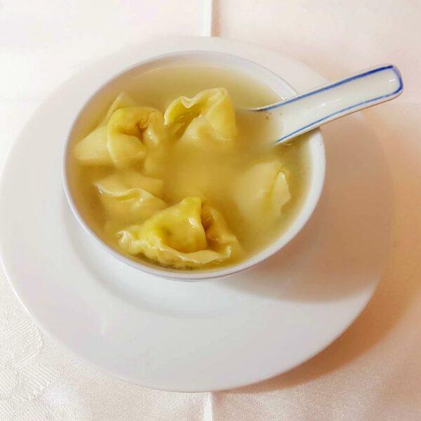 Sopa de Wan Tun gran pekin ourense