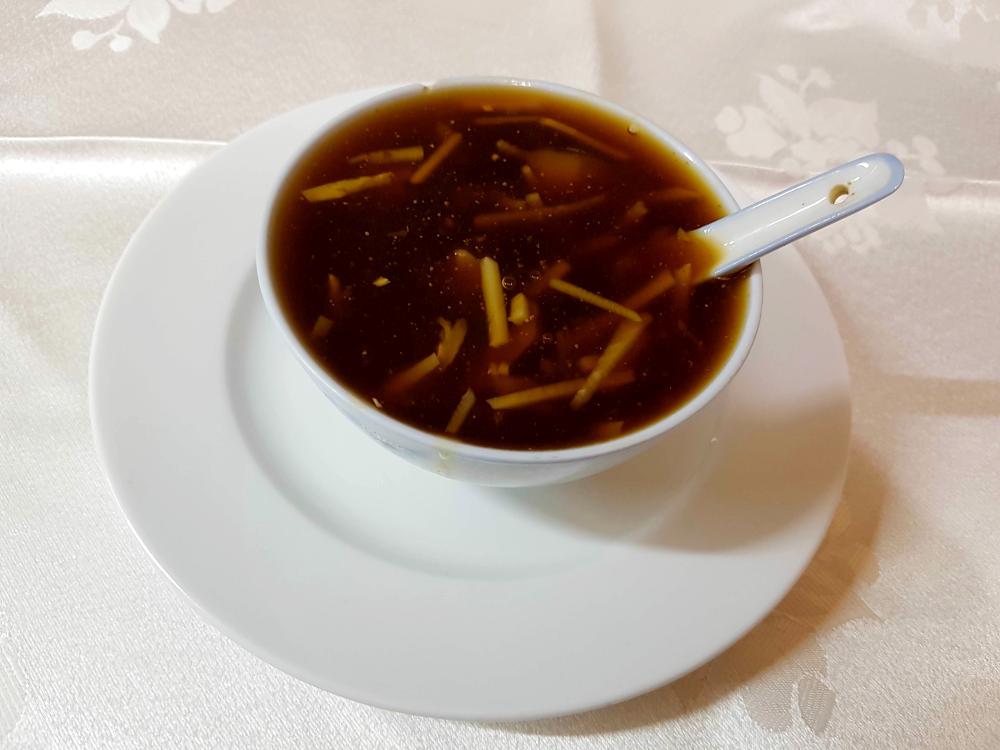 Sopa de aleta de tiburon gran pekin ourense