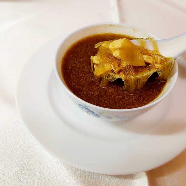 Sopa de fideos con Tsa Chai gran pekin ourense