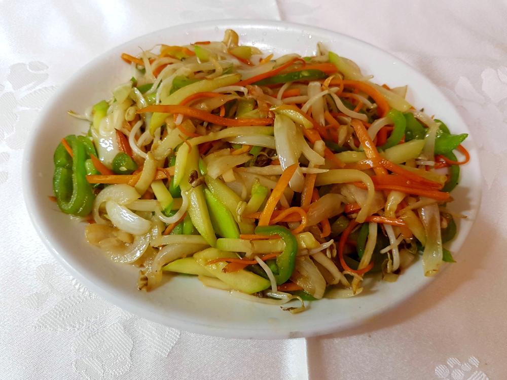 Surtido de verduras salteadas gran pekin ourense