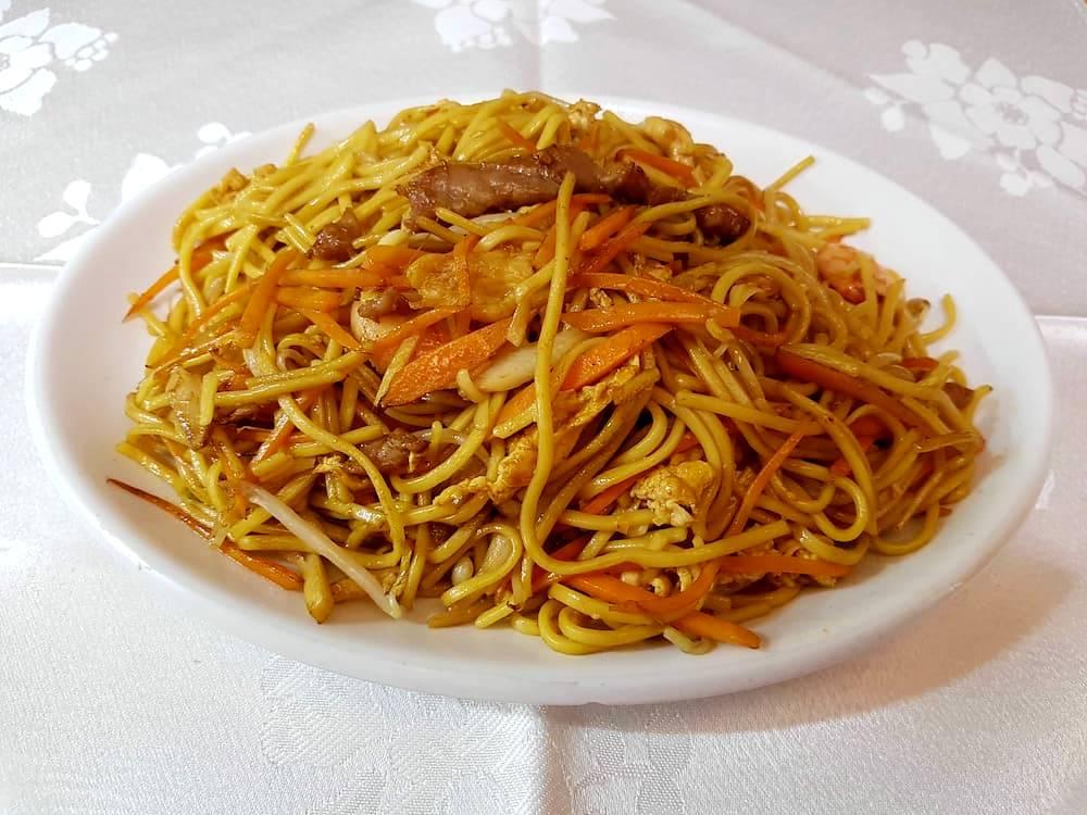 Tallarines tres delicias gran pekin ourense