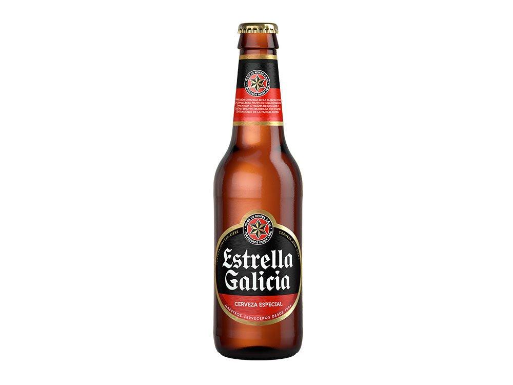 cerveza estrella galicia 33cl gran pekin ourense