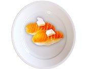 nigiri salmon y queso gran pekin